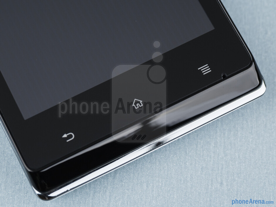 Android buttons - Sony Xperia J Review