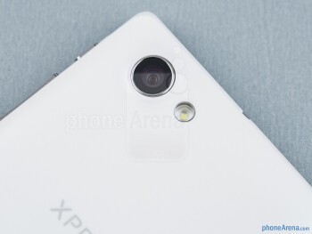 Rear camera - Sony Xperia J Review