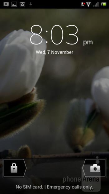 Sony Xperia J menjalankan Android 4.0 Ice Cream Sandwich - Sony Xperia J Ulasan