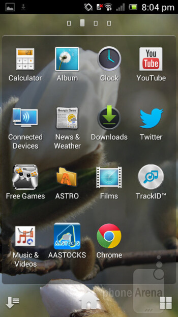 The Sony Xperia J runs Android 4.0 Ice Cream Sandwich - Sony Xperia J Review