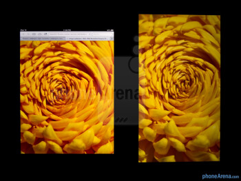 Color productionThe Apple iPad 4 (left) and the Microsoft Surface RT (right) - Apple iPad 4 vs Microsoft Surface RT