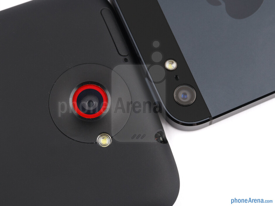 The 8-megapixel shooters - HTC One X+ vs iPhone 5