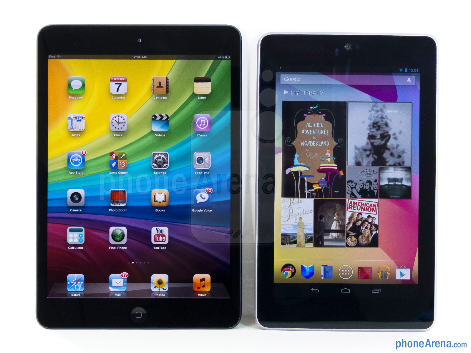 Is the Nexus 7 better or worse than an iPad?