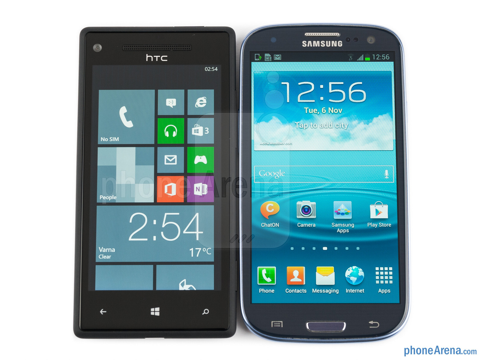 htc windows phone 8x vs samsung galaxy s iii. Black Bedroom Furniture Sets. Home Design Ideas