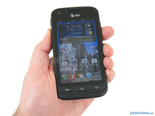 Samsung Galaxy Rugby Pro Review