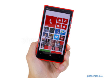 The Nokia Lumia 920 is distinctively a Lumia handset - Nokia Lumia 920 Review
