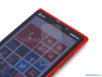 Front camera - Nokia Lumia 920 Review