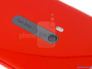 Rear camera - The back of the Nokia Lumia 920 - Nokia Lumia 920 Review