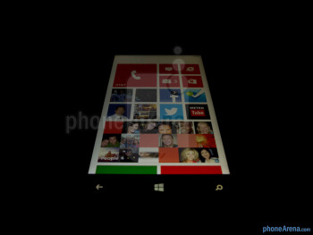 Viewing angles - Color production - Nokia Lumia 920 Review