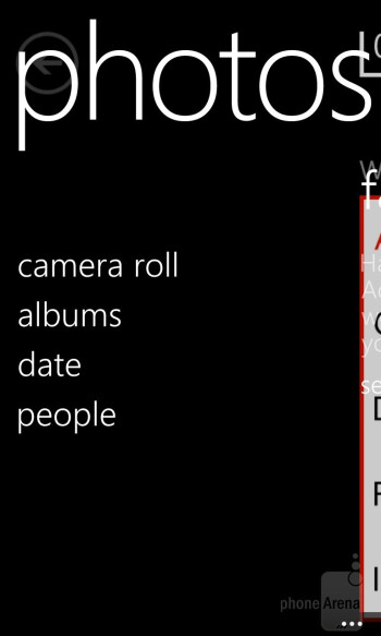 The Gallery of the Nokia Lumia 920 is the same as in any other Windows 8 phone - Nokia Lumia 920 Review