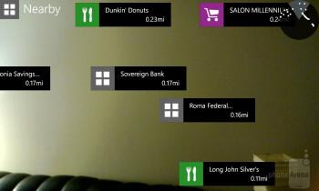 Nokia City Lens augmented reality - Nokia Lumia 920 Review