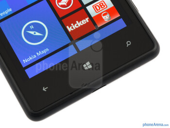 Windows keys - Nokia Lumia 820 Review