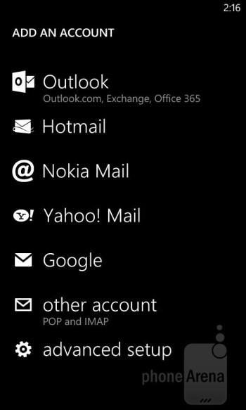 Email - Nokia Lumia 820 Review
