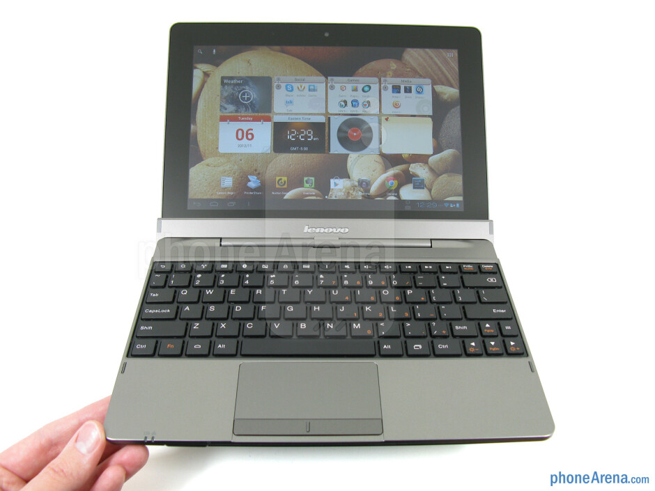 The design of the Lenovo IdeaTab S2110A is a bit bland, but it is well constructed - Lenovo IdeaTab S2110A Review