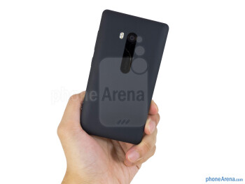 The Nokia Lumia 810 is boxy in appearance - Nokia Lumia 810 Review