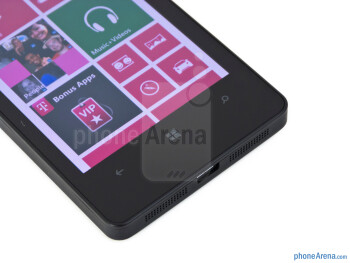 Windows Phone buttons - Nokia Lumia 810 Review