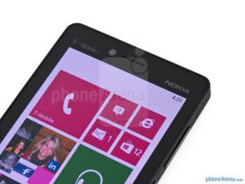 Front camera - Nokia Lumia 810 Review