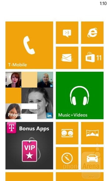 The Nokia Lumia 810's Windows Phone 8 UI - Nokia Lumia 810 Review