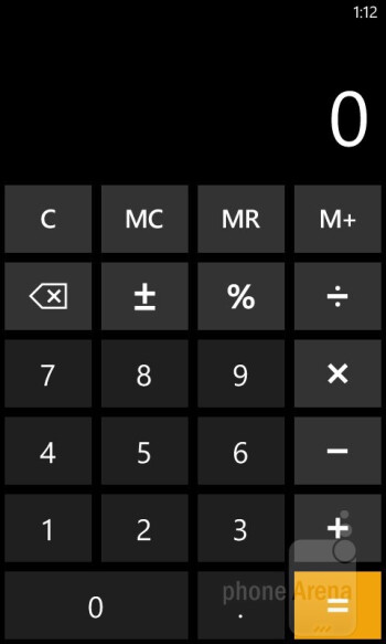 Core organizer apps - On-screen keyboards - Nokia Lumia 810 Review