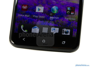 Android capacitive buttons - HTC DROID DNA Review