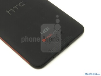 Speaker grill - HTC DROID DNA Review
