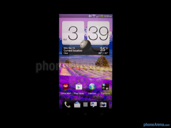 Viewing angles - Color production - HTC DROID DNA Review