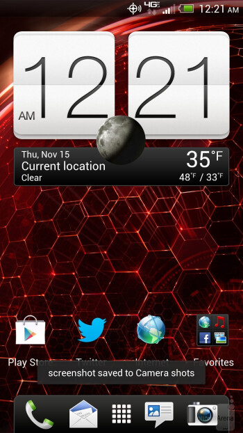 The HTC DROID DNA comes with the HTC sense 4.0+ user interface - HTC DROID DNA Review