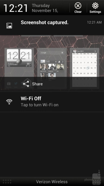 The HTC DROID DNA comes with the HTC sense 4.0+ user interface - HTC DROID DNA vs Samsung Galaxy Note II