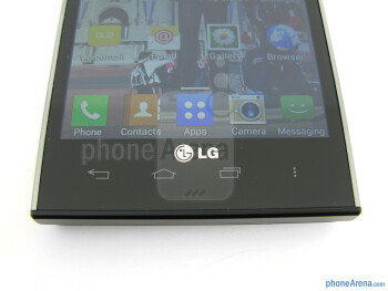 Capacitive buttons - LG Spectrum 2 Review