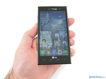The LG Spectrum 2 feels solid and well made - LG Spectrum 2 Review
