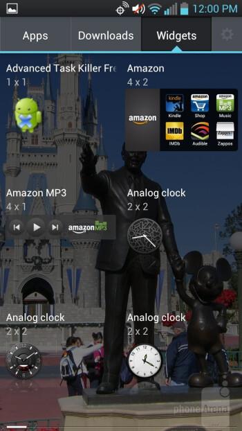 The familiar LG Optimus UI - LG Spectrum 2 Review