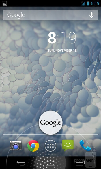The Google Nexus 4 is rocking out to a stock Android 4.2 Jelly Bean experience - Google Nexus 4 Review