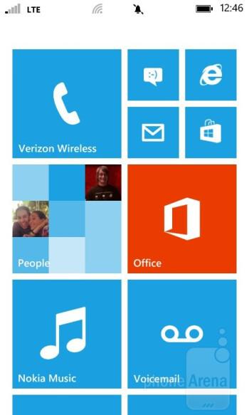 UI of the Nokia Lumia 822 - Nokia Lumia 822 Review