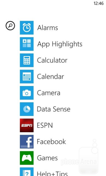 UI of the Nokia Lumia 822 - Nokia Lumia 822 Review