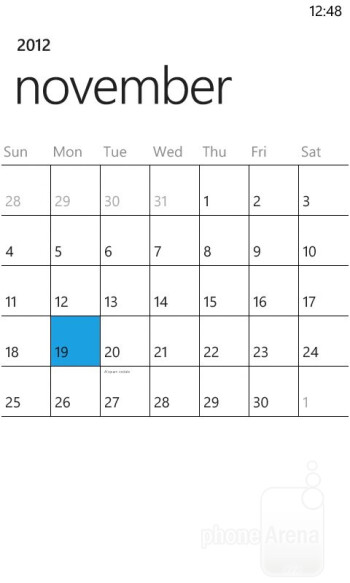 Organizer apps - Nokia Lumia 822 Review
