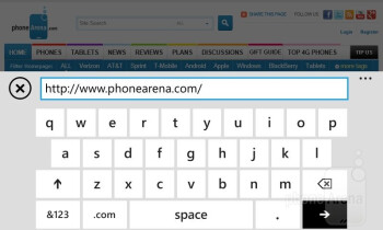 Web browsing with the Nokia Lumia 822 - Nokia Lumia 822 Review