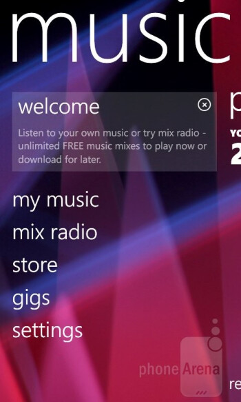 Preinstalled apps - Nokia Lumia 822 Review