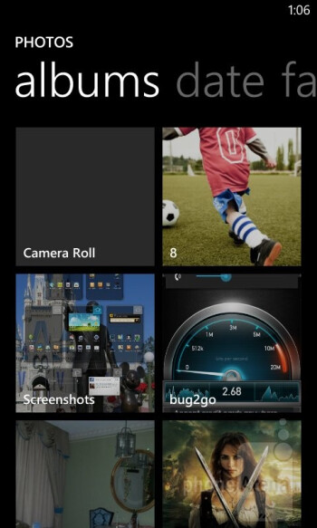 The picture gallery of the Nokia Lumia 822 - Nokia Lumia 822 Review