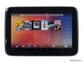 Front - Google Nexus 10 Review