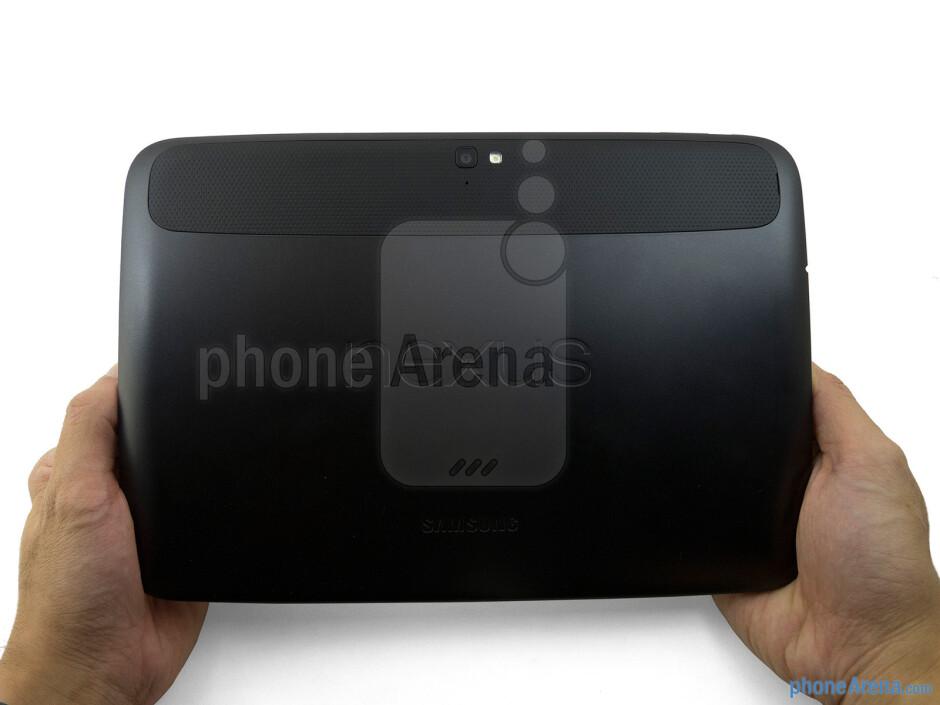 The Google Nexus 10 maintains a clean appearance - Google Nexus 10 Review