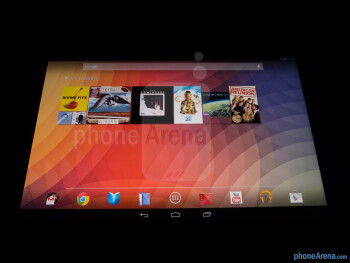 Viewing angles - Color production - Google Nexus 10 Review