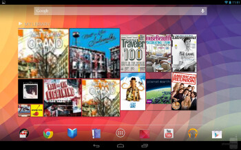 The Google Nexus 10 is sporting the newest flavor of Jelly Bean, Android 4.2 - Google Nexus 10 vs Apple iPad 4
