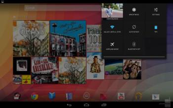 Connectivity panel - Google Nexus 10 Review