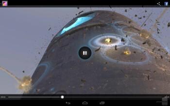 Watching videos on the Google Nexus 10 - Google Nexus 10 vs Microsoft Surface RT