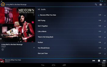 The Google Play Music app - Google Nexus 10 Review