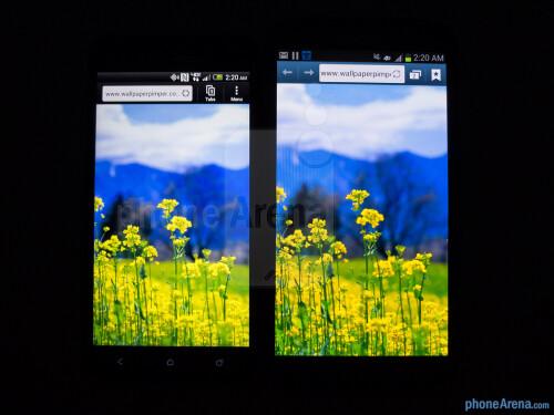 HTC DROID DNA vs Samsung Galaxy Note II