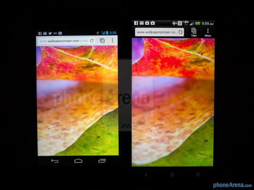 Google Nexus 4 vs HTC DROID DNA