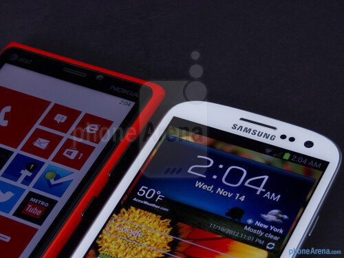 Nokia Lumia 920 vs Samsung Galaxy S III