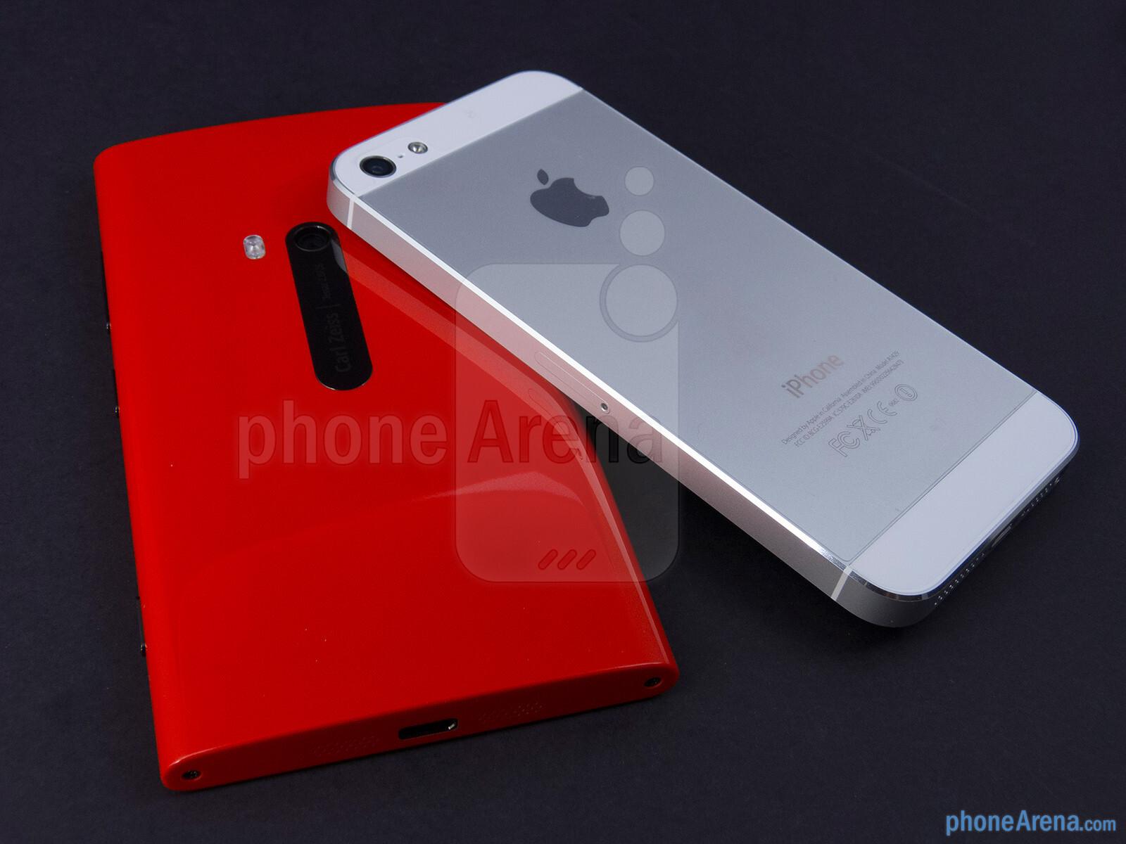 nokia lumia 920 vs apple iphone 5 phonearena. Black Bedroom Furniture Sets. Home Design Ideas