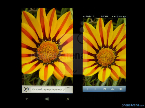 Nokia Lumia 920 vs Apple iPhone 5